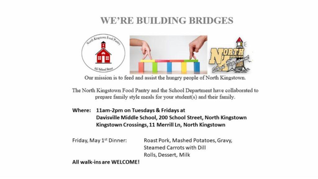 We're Building Bridges Event