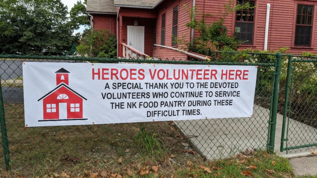 Heroes Volunteer at the NKFP